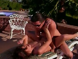 A beautiful passionate fun loving vixen is happy to ride her man's cock
