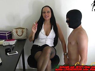 german milf have a office slave bdsm femdom