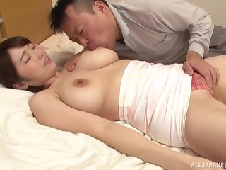Matsumoto Nanami dick riding deserves a facial cumshot in the end