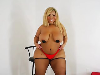 Abbey Rain in BaBy Doll BBW