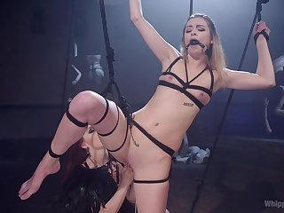 Lesbian torture video with fucking - Chanel Preston and Aspen Ora