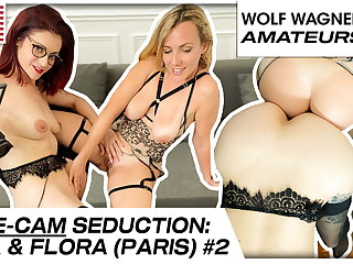 Flora and Mya spoil each other's hot pussies! WOLF WAGNER