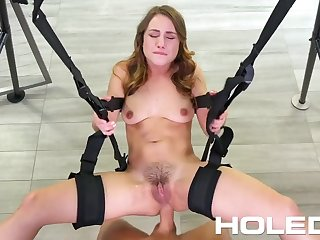 HOLED Butt Fuck Making Out Swing Gets The Job Done